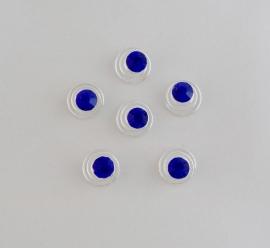 Kobalt Blauwe Curlies 6 st
