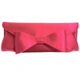 Fuchsia Strik Clutch
