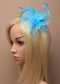 Swirl Fascinator Blauw Haarband