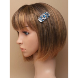 Vintage Style Haarspeldje Turquoise SALE