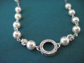 Bruids Eternity Armband