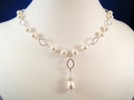 Bridal Pearl Silver Ketting