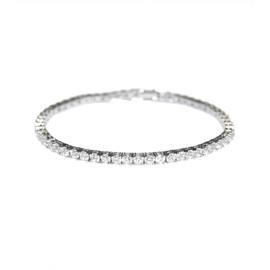 Tennis Armband Zilver