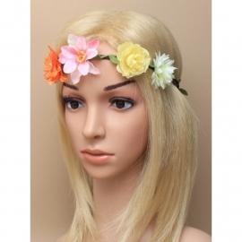 Gekleurde Bloemen Haarband