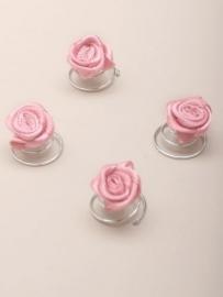 Oud Roze Roos Curlies 6 st