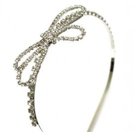 Haarband met Strass Strik