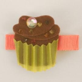 Chocolate Cupcake Haarspeldje