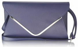 Donker Blauwe  Enveloppe Tas