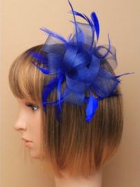 Fascinator Kobalt Blauw