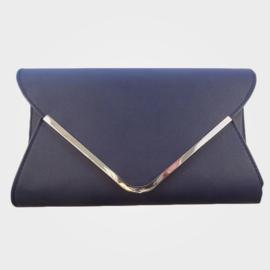 Enveloppe Tas Donker Blauw