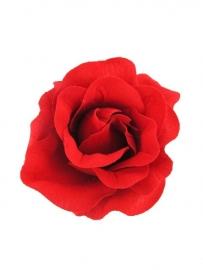 Fel Rode Roos Haarclip
