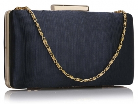 Hard Cased Tasje Navy