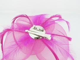 Fuchsia Fascinator Haarclip