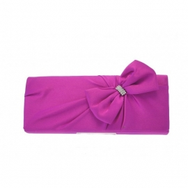 Purple Party Bow Bag