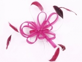 Hot Pink Hair Comb