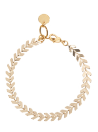 Armbandje met Gouden Blaadjes