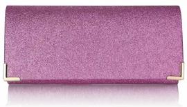 Roze Glitter Clutch