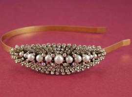 Vintage Feel Haarband Goud