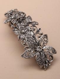 Vintage Bloemen Haarspeld