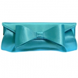 Blauwe Strik Clutch