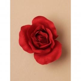 Crimson Rode Roos Haarclip