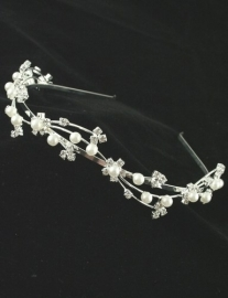 Pearl Sparkle Tiara of Haarband