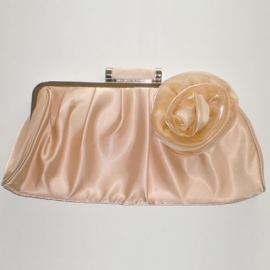 Beige Rose Bag