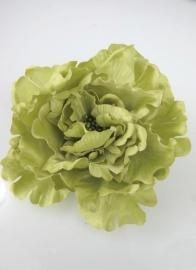 Haarbloem of Broche Licht Groen