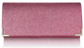 Roze Glitter Clutch SALE