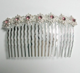 Pink Shimmer Hair Comb