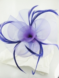 Paarse Fascinator Haarband