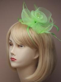 Groene Fascinator Haarkam