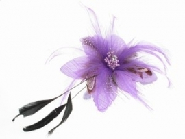 Lilac Feather Flower