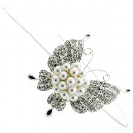 Parel Vlinder Haarband