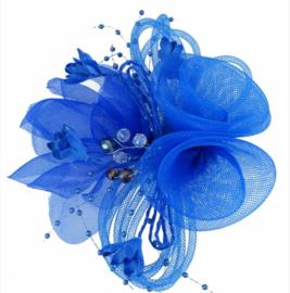 Kraaltjes Fascinator Blauw