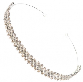 Pearl & Diamante Tiara of Haarband