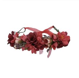 Grote Bloemenkrans Rood 1