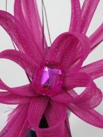 Fuchsia Haarband Fascinator