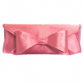 Roze Strik Clutch SALE
