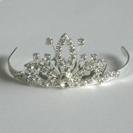 Silver Crown Tiara Kam