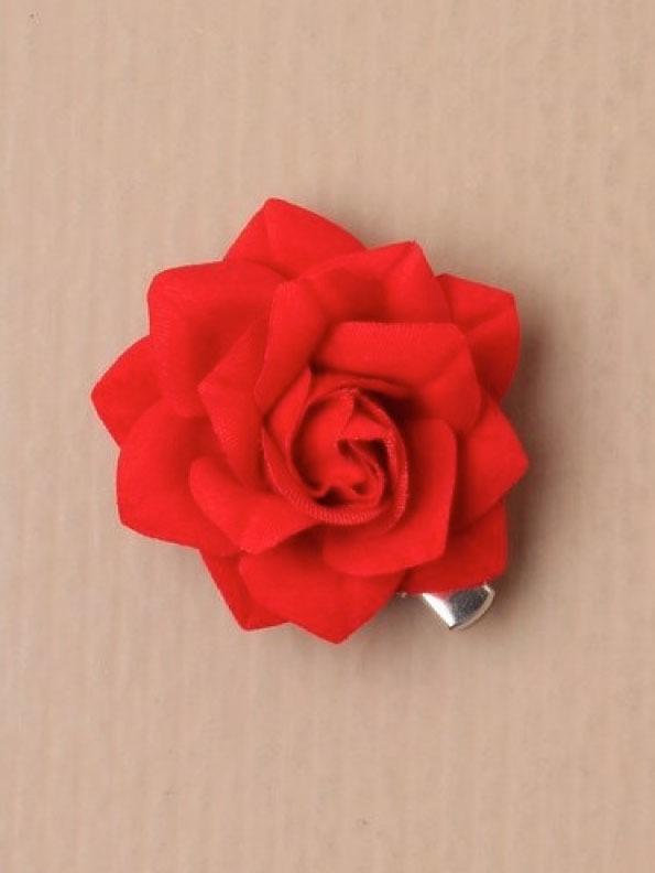Kleine Rode Roos 2 stuks