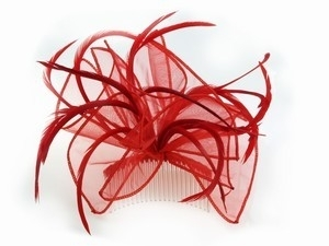 Red Hair Comb