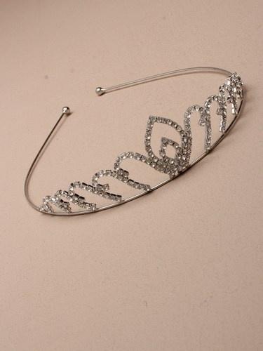Silver Crown Tiara
