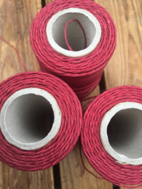 Linen Thread maroon / linnen draad bordeauxrood