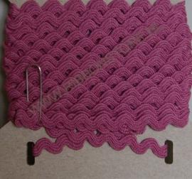 Dark Pink Ric Rac