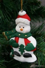 X MAS hanger Snowman xmas tree