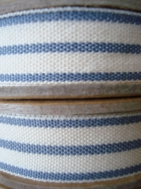 2 stripe cream-blue