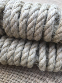 New Flax rope 10 mm 5 mtr