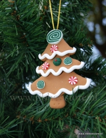 X MAS hanger Gingerbread tree