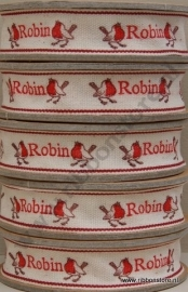 Robin Ribbon 15 mm NEW